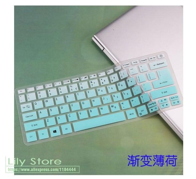 Đối với Acer Swift 3 SF314-52 SF314-54/Swift 1 SF114-32 14 inch Silicone Bàn Phím Cover Skin Protector Guard i5 8250U