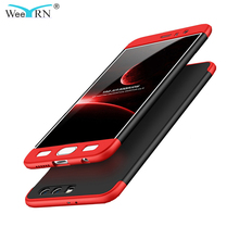 WeeYRN 3 in 1 Protection Case Honor 9 Shock-Proof Hybrid 360 Full Body Hard For Huawei Back Cover Shell Coque