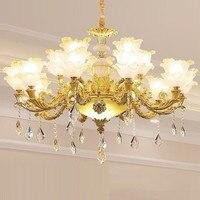 Colgante Modernos Lustre Para Quarto Fixtures Nordic Crystal Luminaire Suspendu Loft Deco Maison Hanging Lamp Pendant Light