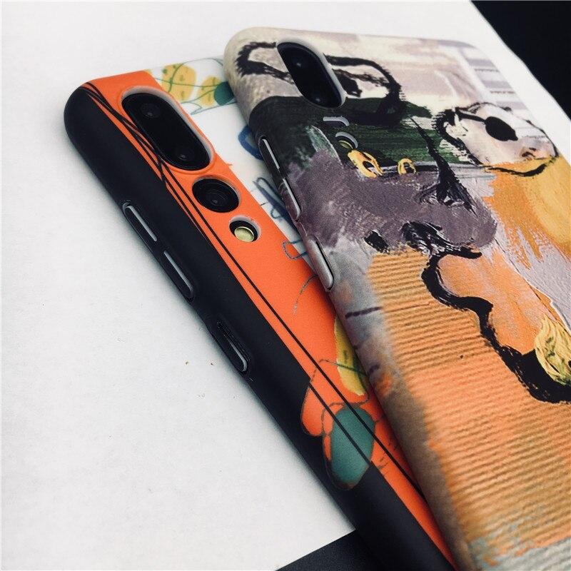 Art Graffiti Phone Case For Huawei P20 Pro P20 Lite P20 P10 Plus Honor 9 10 Hard PC Back Cover For Funda Huawei P10 Case