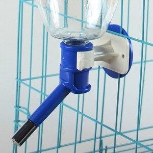 500/1000 мл автоматическая кормушка для домашних животных подача питьевой воды миски для кормления для щенка собаки кошки клетка для домашних животных подвесная миска