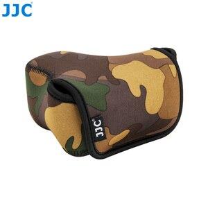 Image 4 - JJC רך ראי מצלמה תיק קטן Neoprene עמיד למים מקרה פאוץ עבור Sony A6100 A6600 A6500 A6300 A6000 Canon M10 G3 X SX520