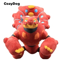 Anime Rare XY & Z Volcanion Plush Toy Soft Stuffed Animal Doll Cartoon Figure Gift for Children Pikachu Series Collection Toys