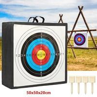 High Density EVA Foam y Target Shooting Practice Board Recurve Cross Bow 50x50x20cm Outdoor Sport Hunting Accessories