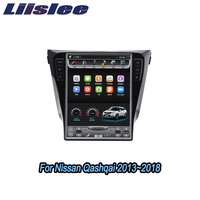 Liislee 2 din Android For Nissan Qashqai Rogue Sport 2013~2018 Big Screen Car Multimedia Player GPS Navigation Radio Carplay