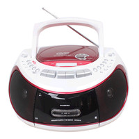 Аудио портативный DVD CD плеер USB SD плеер, радио, Кассетный магнитофон пренатальная машина электронного MP3 плеер Динамик