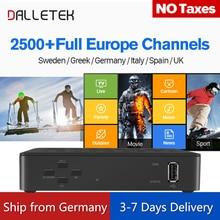 Linux IP TV Box Europa 1 Jahr IUDTV Code IPTV Abonnement 2500+ IPTV Schwedisch Italien Französisch Arabisch IPTV Box PK MAG250 Mag 256