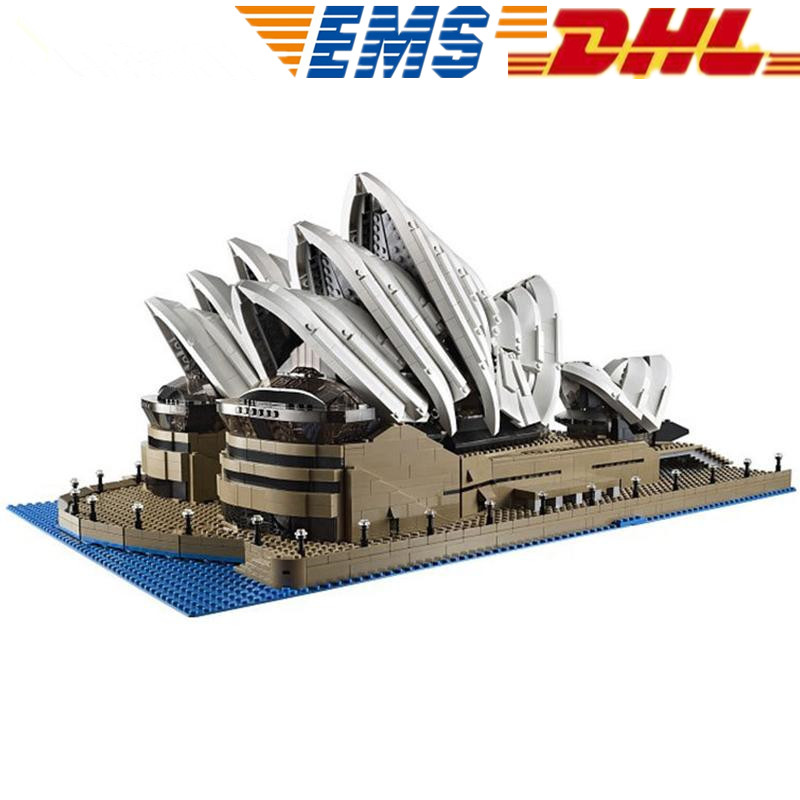 MTELE 2989 Pcs Creator Sydney Opera House Model Building  Blocks Figures Bricks Toys Compatible With Lego 10222 Lepin 17003 simply red farewell live in concert at sydney opera house