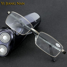 Yi Jiang Nan Brand Fashion Stylish Men Full Frame Optical Reading Glass Quality Aluminum Magnesium Alloy Eyeglasses for Reading(China)