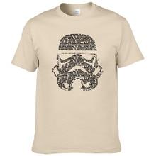 Мужская футболка тропические футболки с изображением штурмовиков футболка Star Wars для мужчин s Высокое качество хлопок одежда с принтом#263