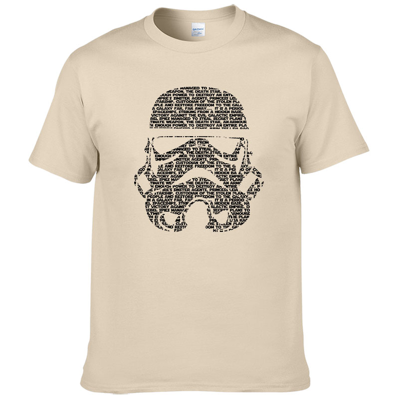 2017 Men   T  -  Shirt   Tropical Stormtrooper   Shirts   Star Wars   t     shirt   Mens High Quality Cotton Printing Clothing #263