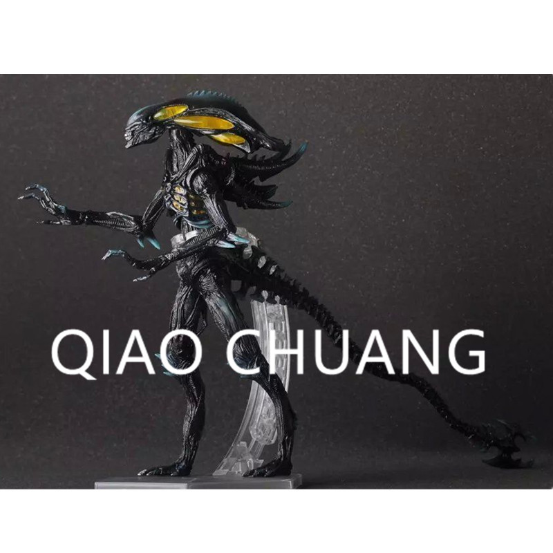 Alien Anime Decoration Science Fiction Movie Alien vs. Predator Justice League Alien Colony PVC Action Figure Model Toy G865 saintgi alien covenant alien vs predator alien pvc 19cm animated action figure collection model dolls kids toys