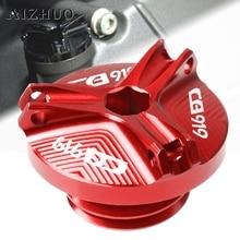 Motorcycle Engine Oil Filler Cup Cap Plug Cover For HONDA CB919 CB900F HORNET CB 919 2001-2008 2007 2006 2005