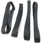 2pcs Closed rubber track/remote control car remote control tank model DIY robot crawler/Track Tire/DIY model accessories