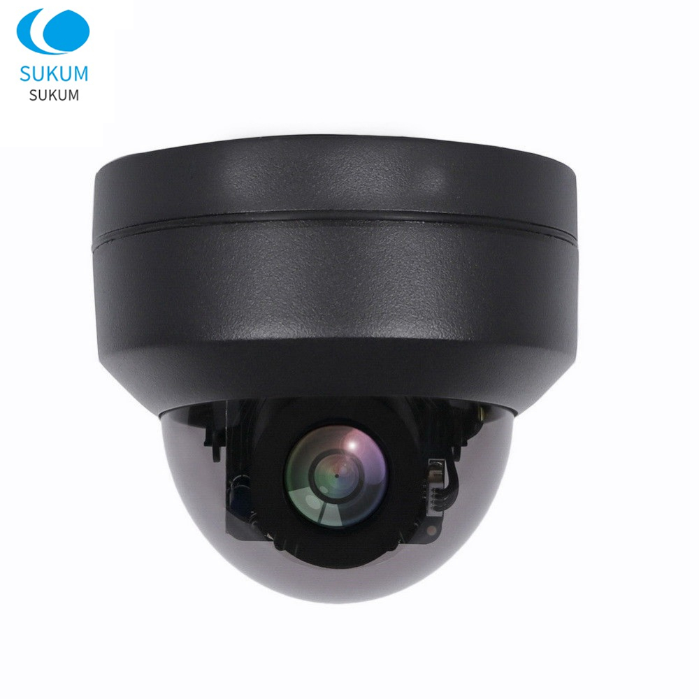 2MP Dome Outdoor PTZ Camera IP Waterproof Full Color Night Vision 2.8-12mm Motorized Lens Starlight Security POE Camera ONVIF