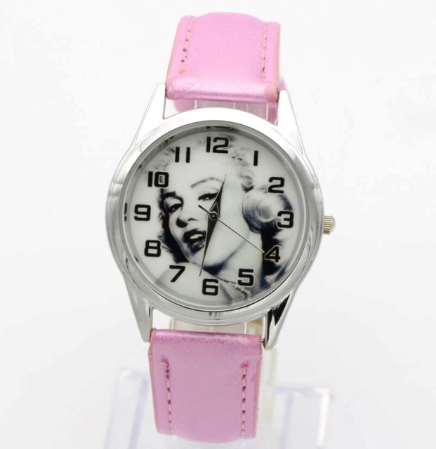 2018 new men women children pretty Marilyn Monroe cartoon lovely watch Best fash