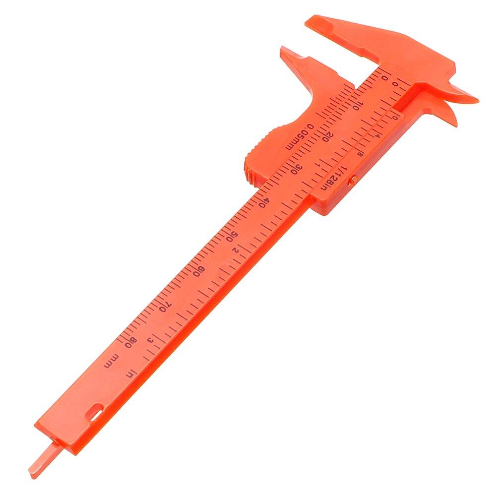 NICEYARD 180mm Vernier Caliper Measuring Tool Ruler Plastic Gauging Tools Gauge Sliding Vernier Caliper Mini Calipers