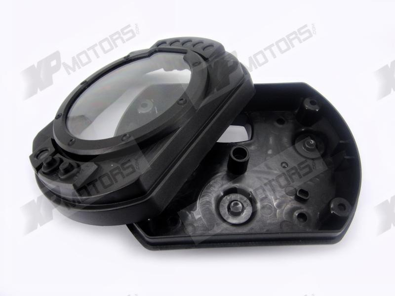 New ABS Plastic Speedometer Gauge Case Cover Tachometer For Kawasaki Z750 Z1000 Ninja ZX6R ZX10R 2003
