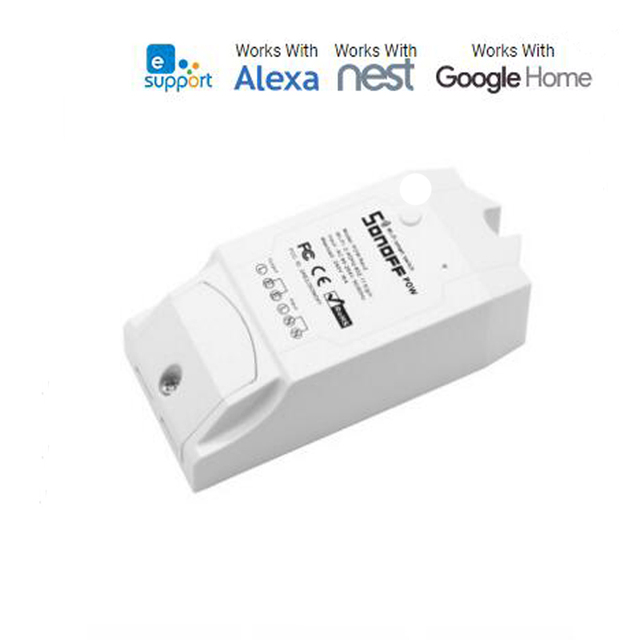 Sonoff Pow R2, Itead Wireless WiFi Switch ON/Off 15A With Real Time Power Consumption Measurement Watt Meter Smart House IOT