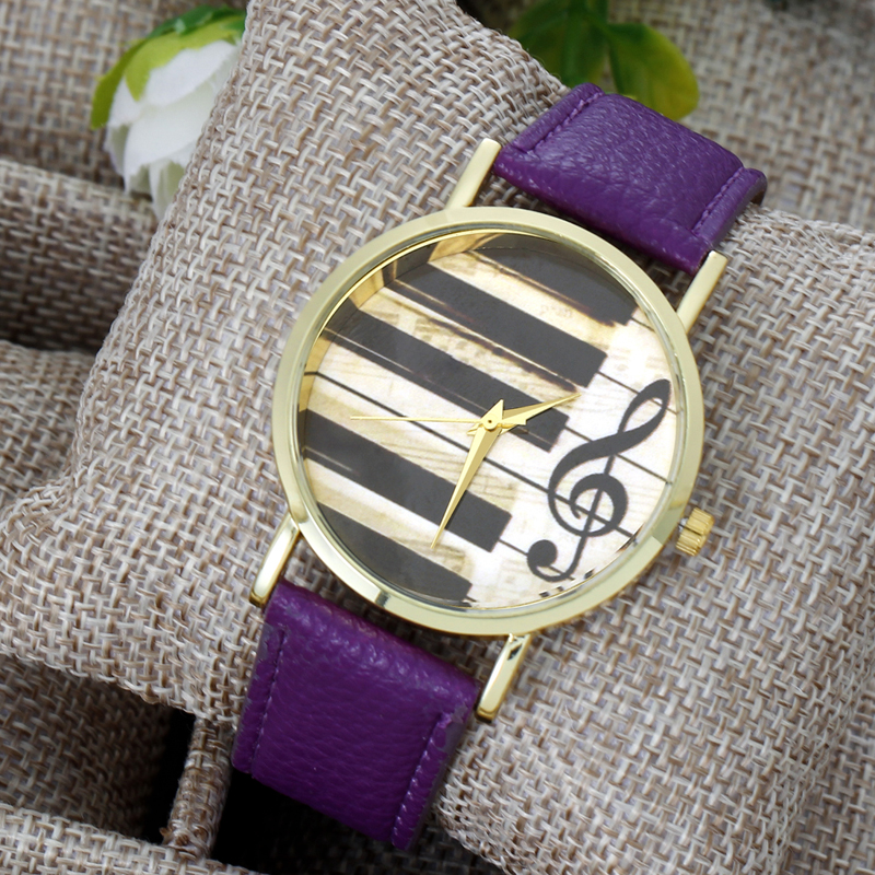 Piano Music Note Watch » Music Note Gifts