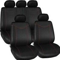 Universal 11 Pcs Full Seat Cover Set Auto Interior Accessories Low Front Back Set Car Interior