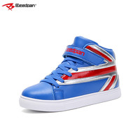 Beedpan 2019 New Autumn Fashion Kids Shoes For Boys Girls Plush Child Winter Sneakers Top Quality Leather High Top Sneakers Kids