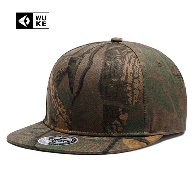 Brand Genuine Camo Hip-Hop Army   Cap   Snap Back Hats Print   Baseball     Caps   For Men Women's Fashion Bones Snapback Adjustable Size