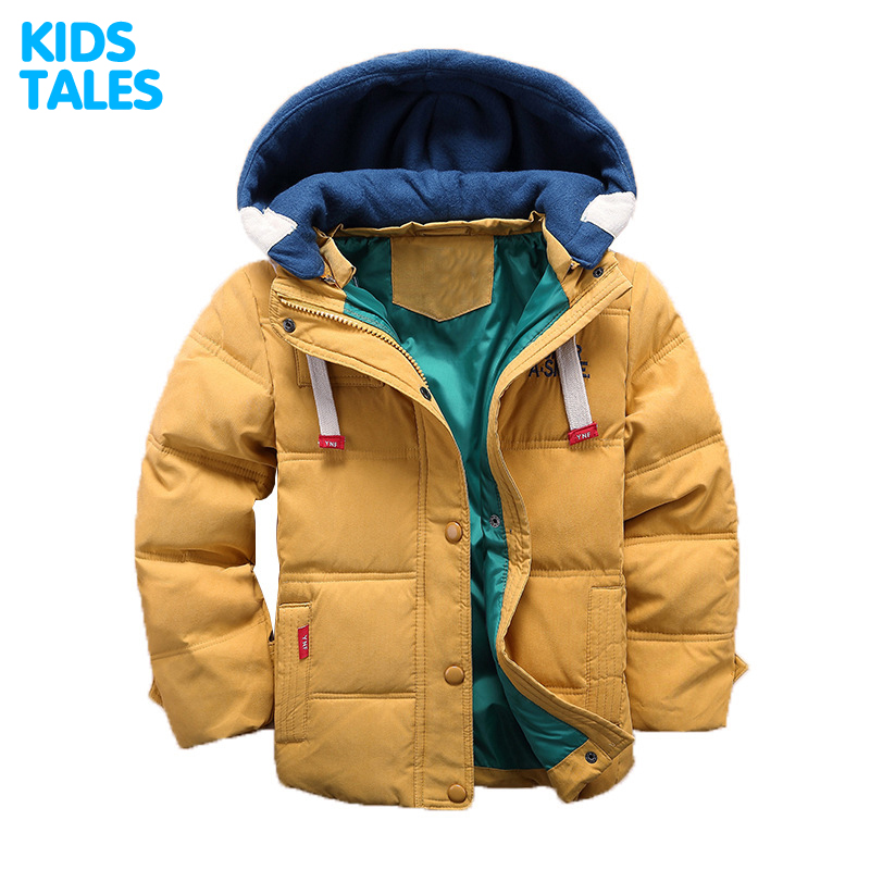 Brand Fashion Children's Down Jackets/coat winter Big boy Coat thick duck Down feather jacket Outerwear cold winter new arrival 2018 winter europe fashion women s duck down coat