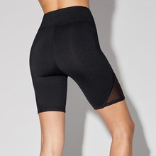 Yoga Shorts Mesh Women Workout Patchwork Shorts Running Athletic Gym Leggings Sexy Compression Bottoming Shorts #N