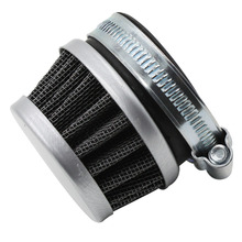 New Styling Universal 42mm Air Filters Cleaner Intake Motorcycle Chrome For 250cc ATVs Quad Dirt Pit Bikes Parts Gauze
