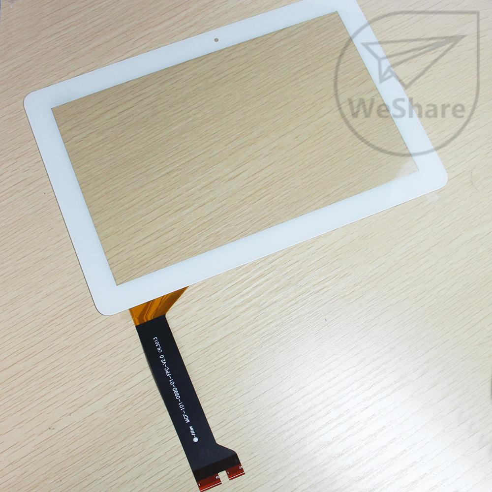 10 Inch Touch Screen Digitizer For Asus MeMo Pad 10 ME102 ME102A V2.0/3.0 MCF-101-0990-0.1-FPC-V2.0 White