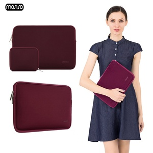 Image 2 - MOSISO Waterproof Laptop Sleeve Notebook Bag Pouch Case for Macbook Air 11 12 13 14 15 Pro 13.3 15.4 Retina Unisex Computer Bags