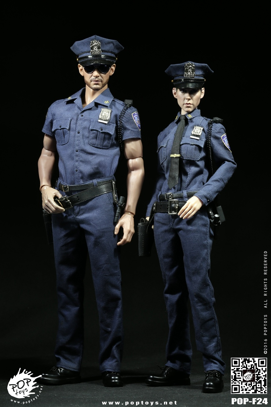 1:6 scale Super flexible figure U.S. Policeman or Policewoman 12 action figure doll Collectible Model plastic toy did1 6 scale doll jean reno french soldiers special edition super flexible figure model toy wwi soldier finished product