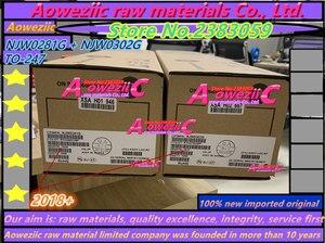 Image 5 - Aoweziic 2019 + 20 個 = 10 ペア 100% 新インポート元の NJW0281G NJW0302G NJW0281G NJW0281 に NJW0302 247 オーディオマッチングチューブ
