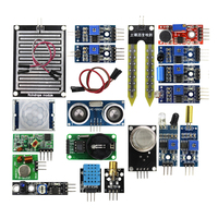 16pcs 1lot Raspberry Pi 2 The Sensor Module Package 16 Kinds Of Sensor Raspberry Pi Free