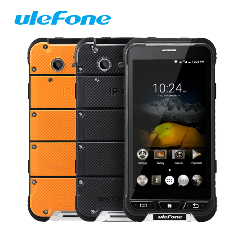 Ulefone ARMOR MT6753 Octa core 1 3GHz Mobile Phones 32G ROM 3G RAM Waterproof IP68 4