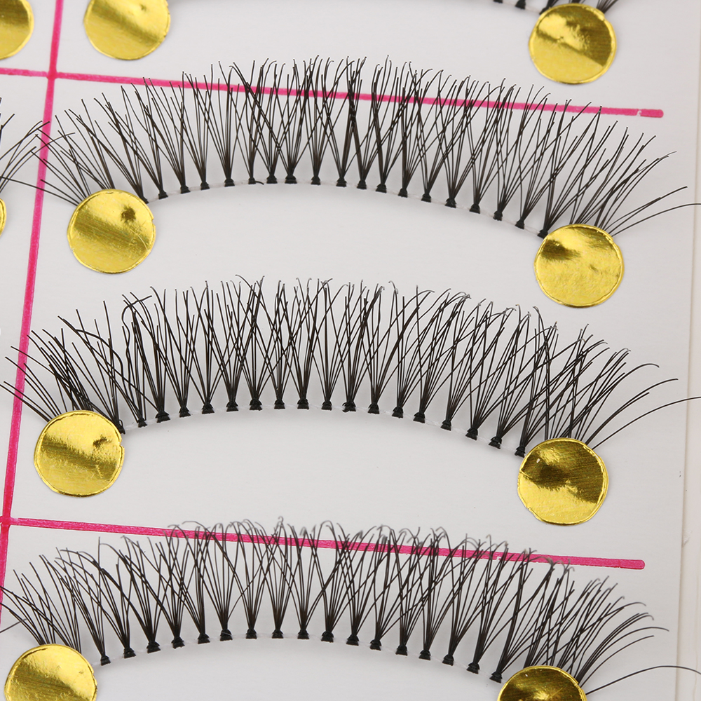 10 Pairs Women Natural Thick Long False Eyelashes Voluminous Fake Eye Lashes Handmade Makeup Beauty Tools