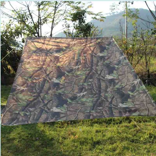Ultralight Sun Shelter Camping Mat Beach Tent Pergola Awning Canopy Tarp Camping Barbecue and Picnic 2X2M Ground Fabric ZS7-281