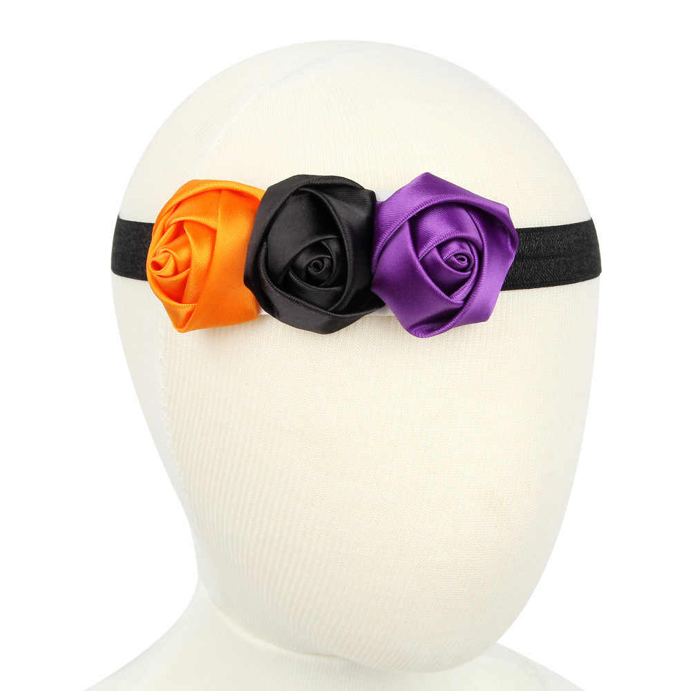 Diadema para bebé Niña Accesorios para el cabello infantil cinta de tela lazos diadema tiara regalo cinta vendaje Rosa recién nacido niños pequeños