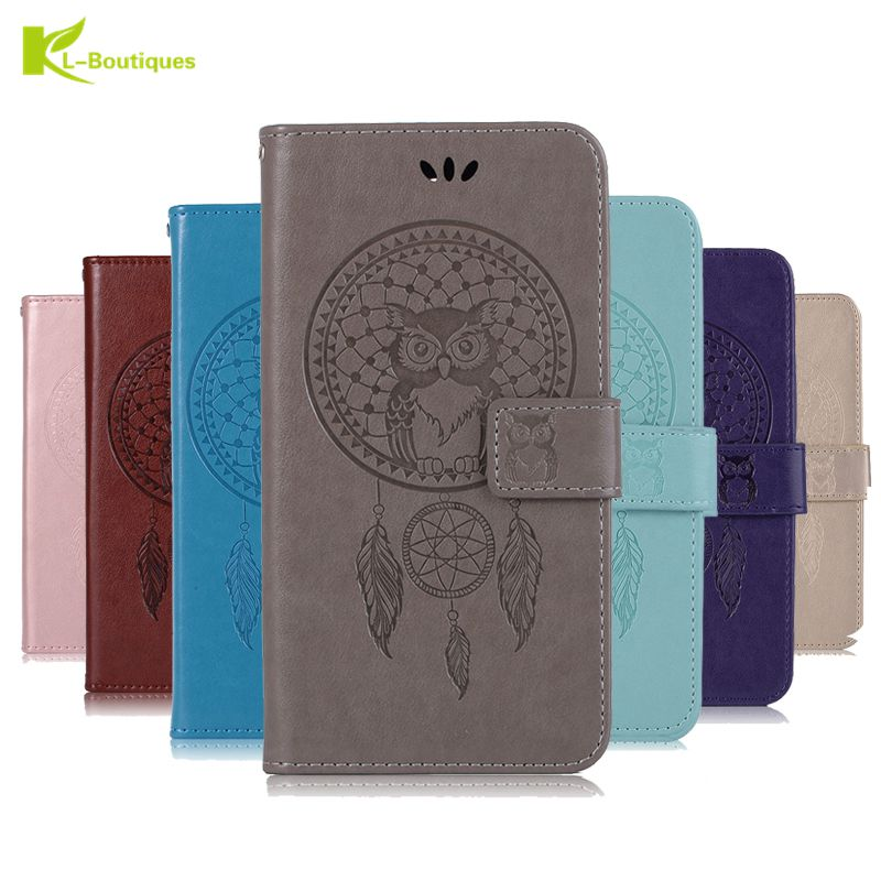 A9 2018 Leather Case on for Fundas Samsung Galaxy A9 2018 A920 3D Owl Case for Samsung A9 2018 Wallet Flip Magnetic Case Cover