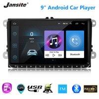 Jansite 9 Автомобильный Радио автомобильный аудио проигрыватель Android для Volkswagen Polo, Golf wagon Passat estate модели Amarok, Caddy gps Bluetooth FM