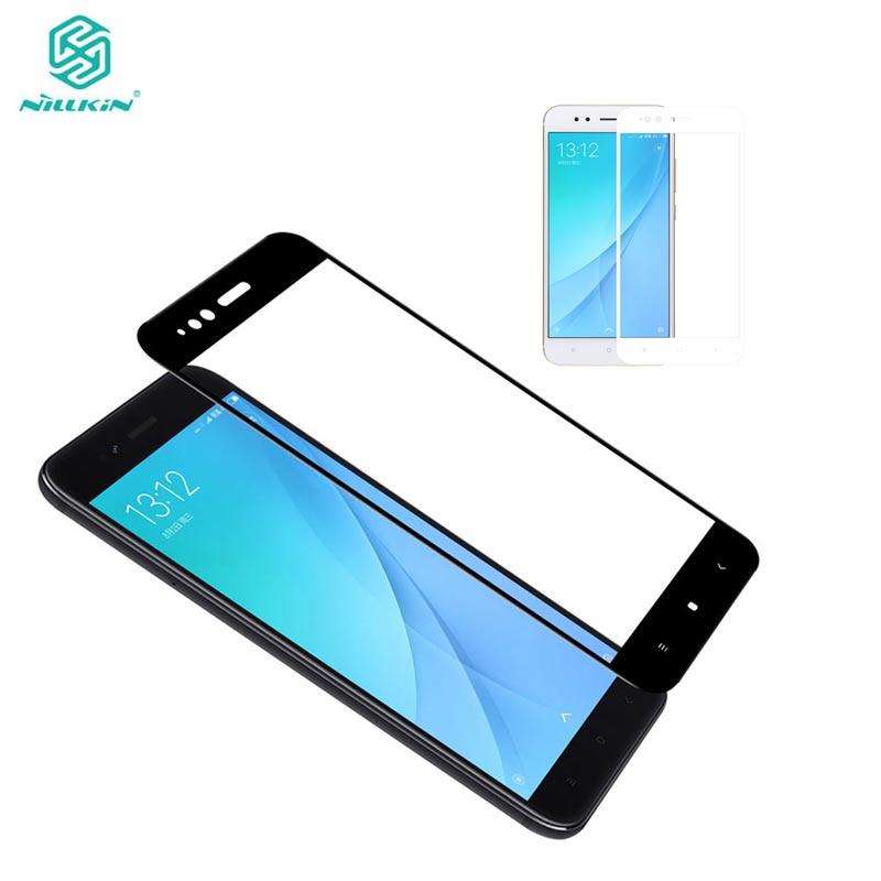 Xiaomi Mi A1 Gehärtetem Glas Nillkin CP + Volle Abdeckung Bildschirm schutz Für Xiaomi Mi A1/MiA1 Schutzglas 5,5 zoll
