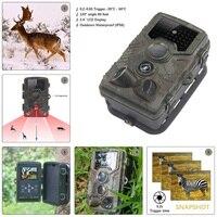 사슴 사진 트랩 디지털 헌터 트레일 카메라 HC800A 스카우트 야생 동물 샤쓰 야간 블랙 IR LED 야생 카메라 사냥