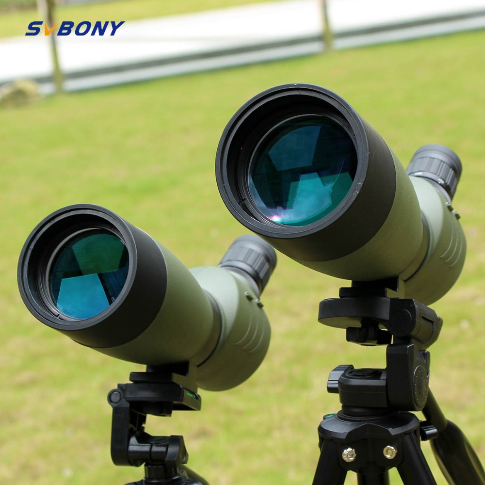 SVBONY Spotting Scope 20-60x60 / 25-75x70mm Zoom telescoop BAK4 - Jacht - Foto 3