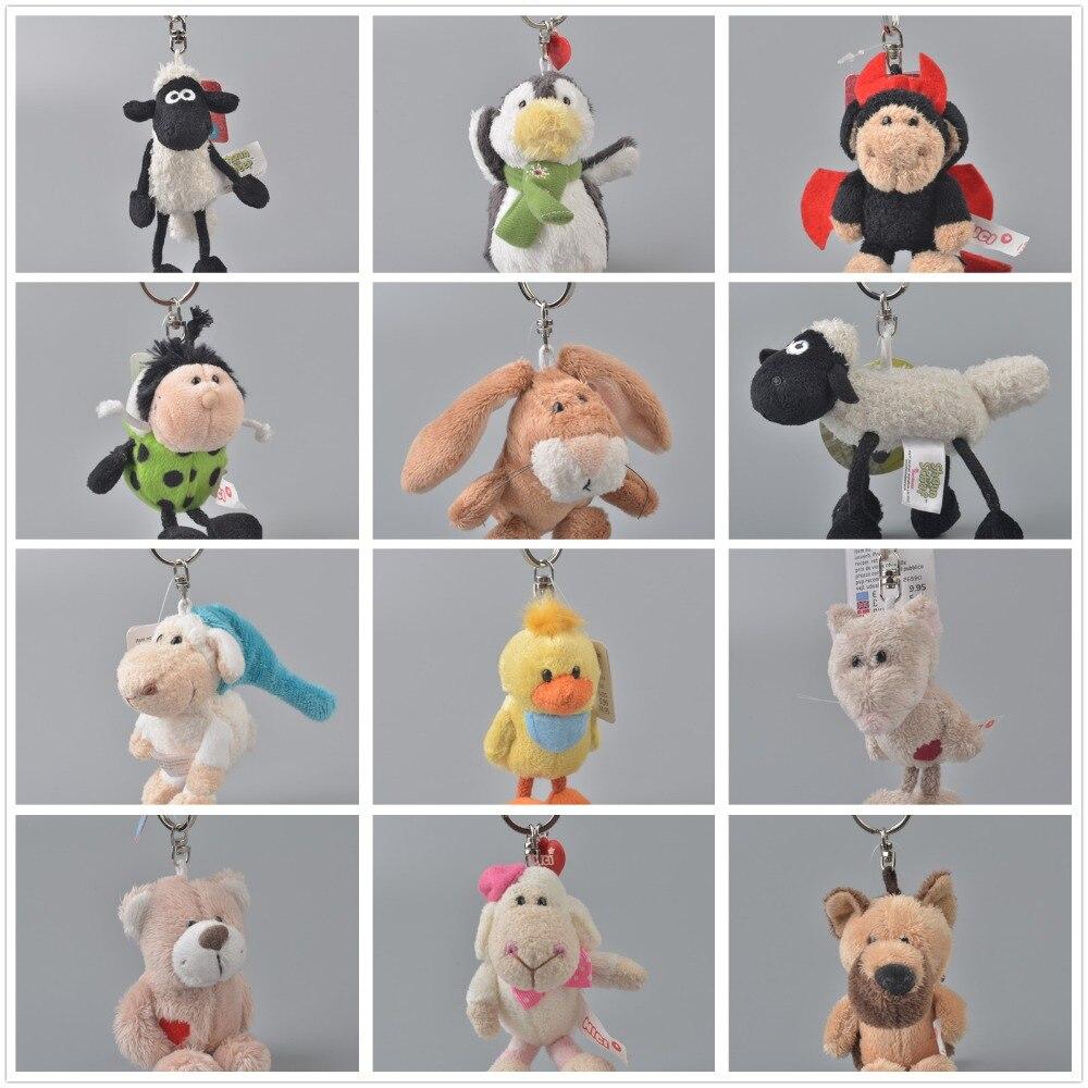 200 Stks Willekeurig Verzending Leuke Zachte Dieren Koelkast Baby Kids Leren Sleutelhanger Speelgoed Party Gift Magneten Interieur Decoratieve