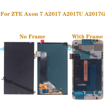 100% tested original AMOLED screen For ZTE Axon 7 A2017 A2017U A2017G LCD display + touch screen digitizer replaceable screen цена 2017