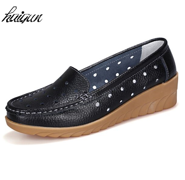 Flat Shoes Women Soft Slip on Flats Female Loafers Mother Comfortable Fashion Casual Shoe Woman PU Leather Shoes soft pu leather women flat shoes casual driving loafers flats moccasins slip on comfortable buckle woman shoes new fashion sdt08