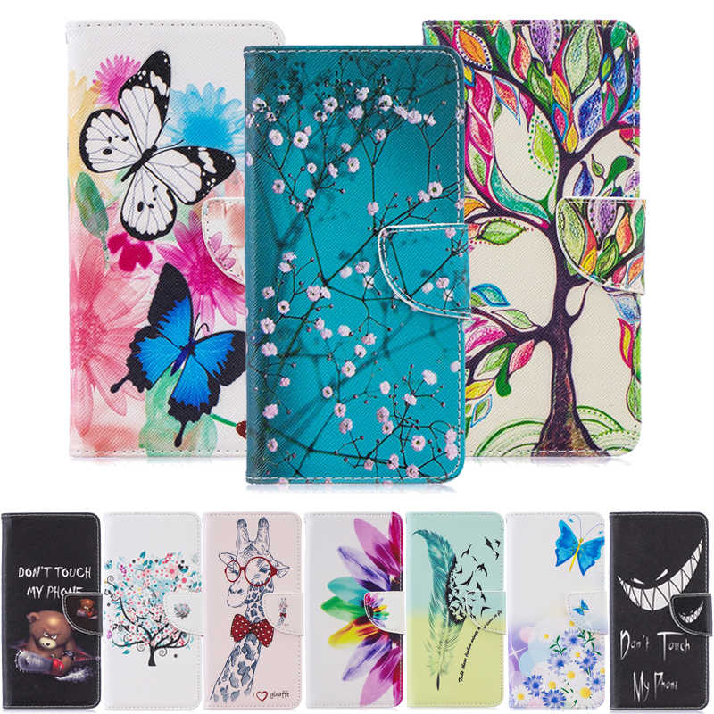 Huawei P Smart Z Case Flip Leather Case for Huawei P Smart Z 2019 STK-LX1 PSmartZ PSmart Z Coque Wallet Soft Silicon Back Cover