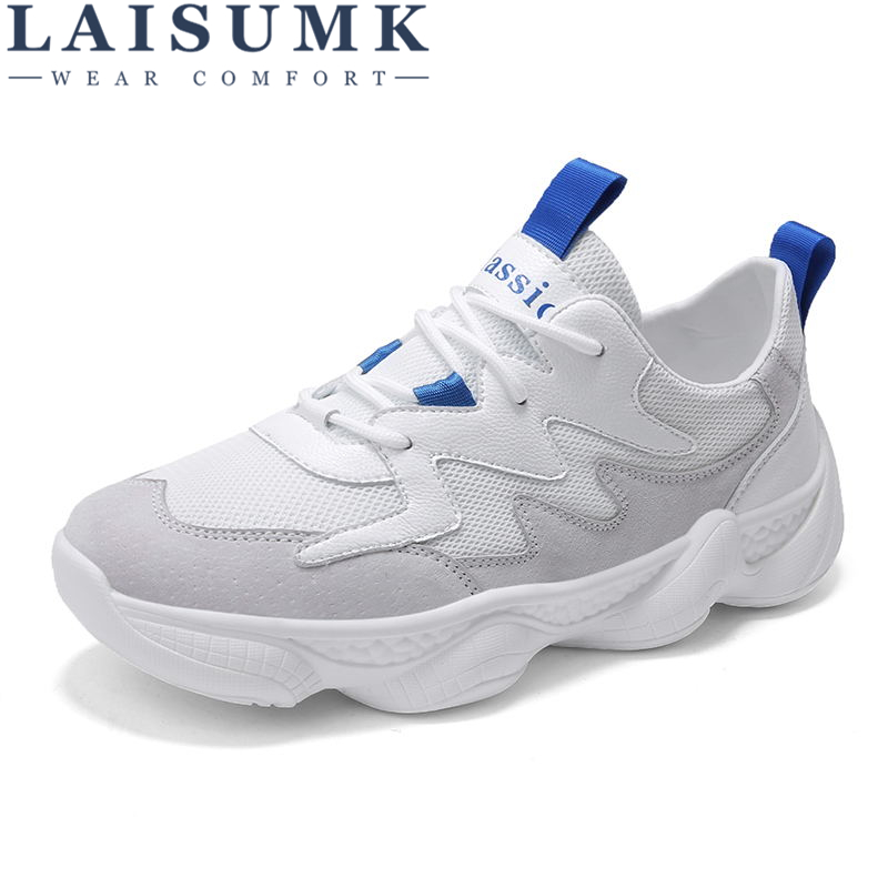 LAISUMK New Arrivals Mens Sneakers Breathable Shoes Casual Comfortable Trainers Footwear Zapatillas Hombres