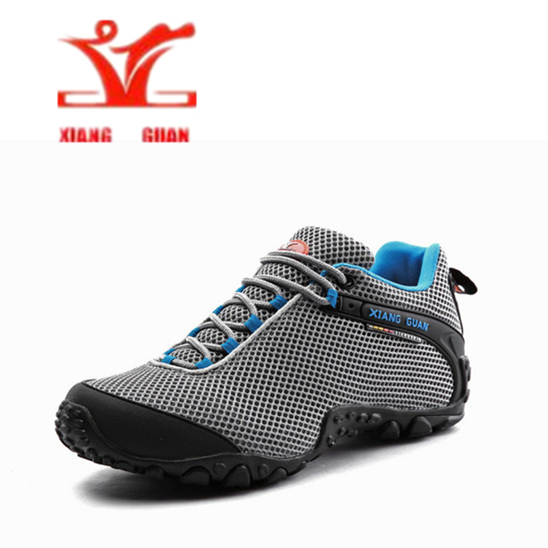 XIANG GUAN Hiking Shoes 2017 Men Outdoor zapatillas deportivas hombre Trekking Shoes Suede Leather Mountain Shoes Sport Shoes clorts hiking men shoes outdoor trekking shoes suede lace up leather shoes mountain climbing shoes zapatillas outdoor hombre